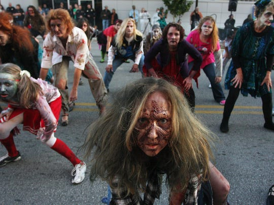 """Saturday's Thriller on C-Street begins with a 3:30 p.m. kid-friendly street performance of Michael Jackson's """"Thriller."""" The main performance is at 7:30 p.m."""