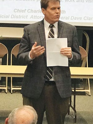 Anderson County District Attorney General Dave Clark