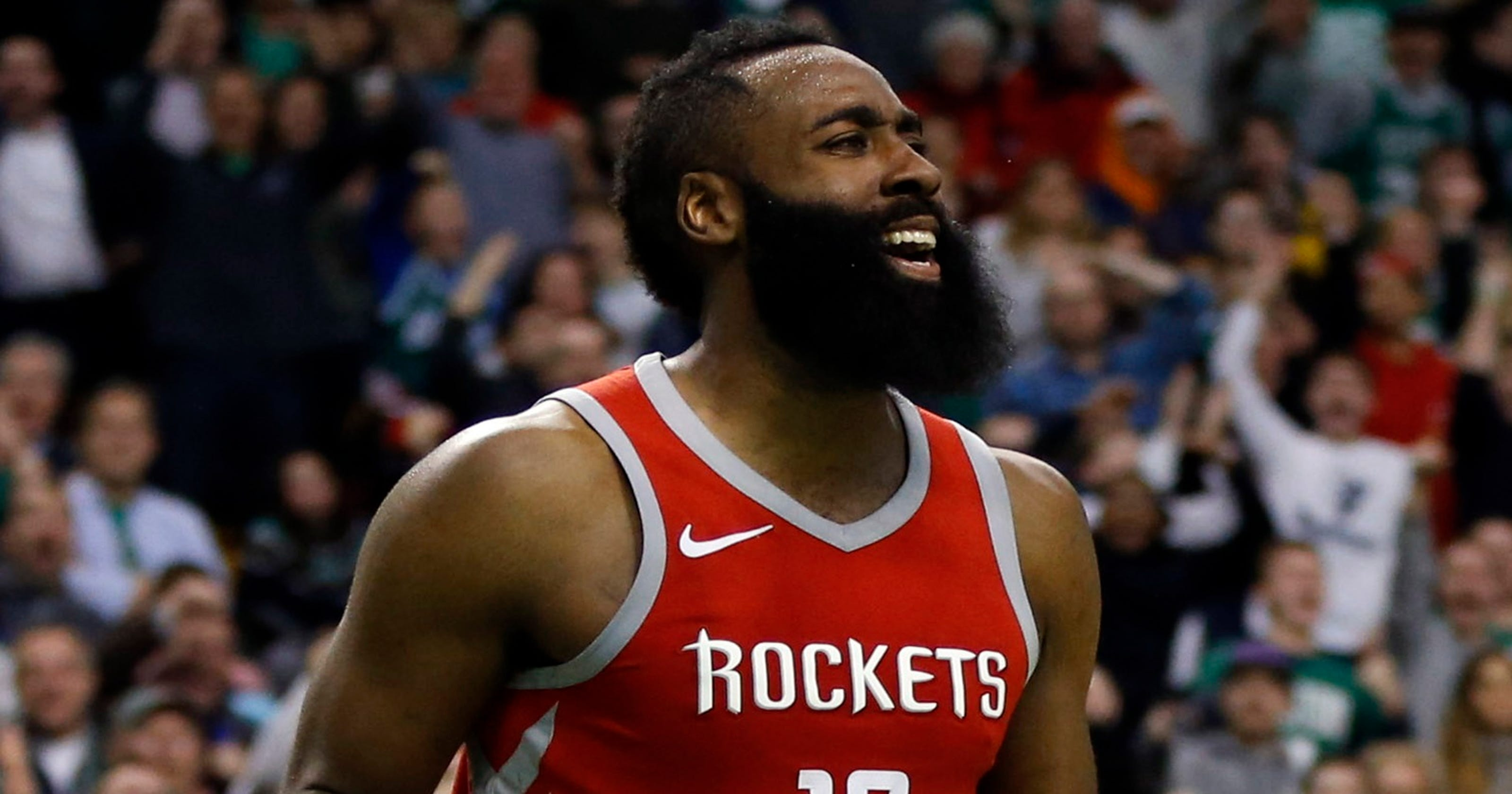 e4c3cc6ec40b Rockets star James Harden out at least two weeks with hamstring injury