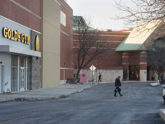 Gold's Gym was carved out of a space that once housed
