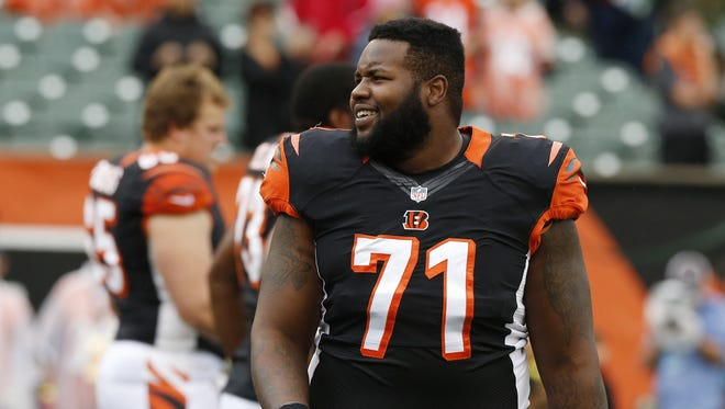 Cincinnati Bengals tackle Andre Smith.