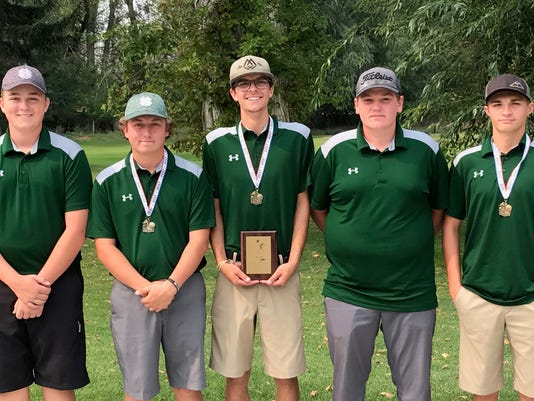 Rustler boys' golf team