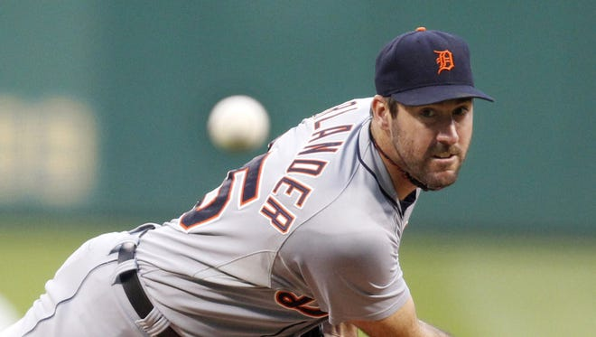 Justin Verlander said it's normal to feel some kinks after having time off.