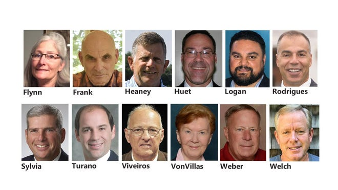 Candidates for the seven-seat Middletown Town Council.