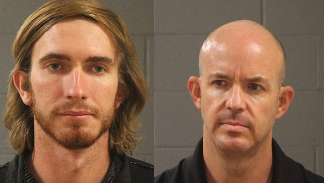 From left, Cornell Jensen Cooke and Jib Ryan Payne appeared in court on Monday in separate cases that stem from similar sexual assault and sodomy felonies.
