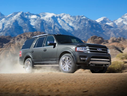 This photo provided by Ford shows the 2017 Ford Expedition.