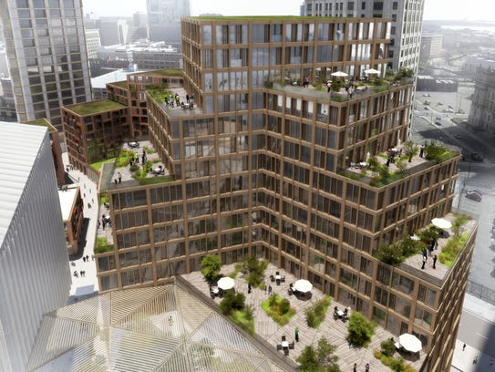 Dan Gilbert's Monroe Block project includes this residential