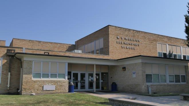 Morgan Elementary School in Hutchinson, Kansas.