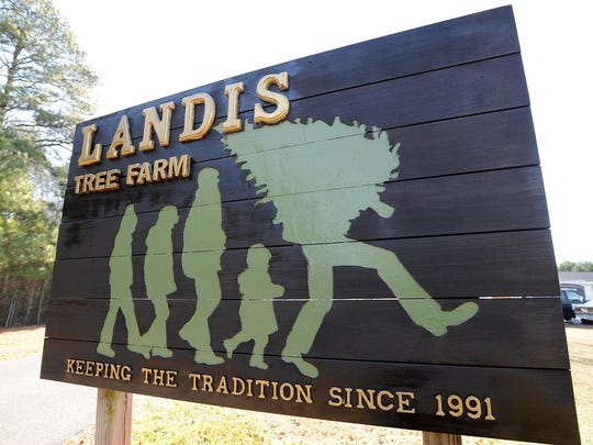 Landis Tree Farm is located at 28366 Johnson Lane in Harbeson.
