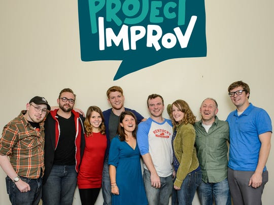 Project Improv is one of Louisville's many improvisational acting troupes.