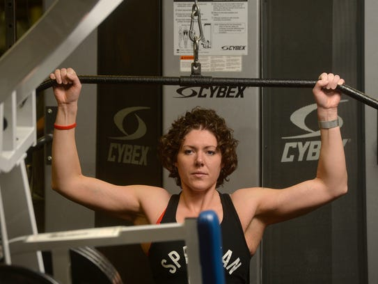 Kayla Webber is currently training for her next Spartan