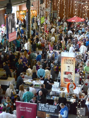 The Taste of Derby Festival at Slugger Field will attract 1,250 people in 2016, drawn to sample 45 local restaurants and 20 liquor and wine vendors at Louisville Slugger Field to benefit the Dare to Care food bank. The event takes place April 26