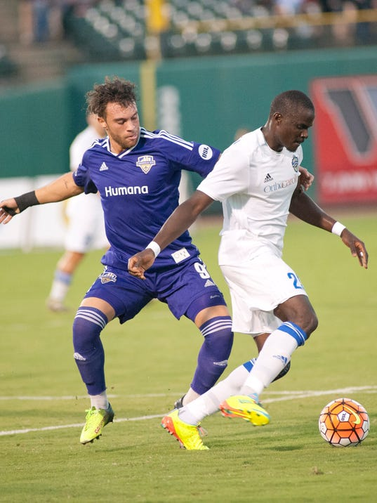 USL PLAYER OF THE WEEK: Louisville City FCs Spencer gets