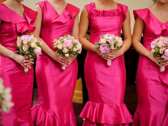 Wedding party members will spend an average of $701