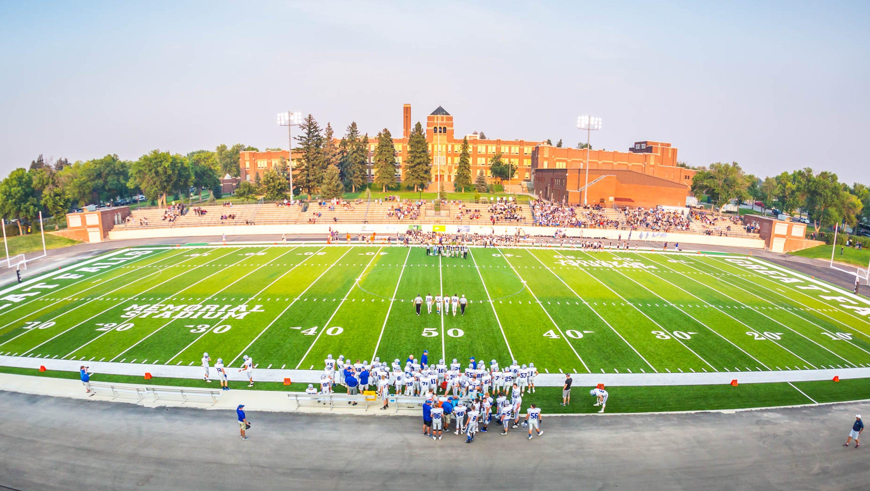 Great Falls High Named Most Beautiful Public High School