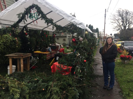 Hart family gets trimmings, lights, ornaments and decorations ready for its annual Christmas community invite at Fourth Ave. and Virginia in Stayton. The event, which takes place Saturday and Sunday over the first three weekends in December, is dedicated to benefit the local food bank.