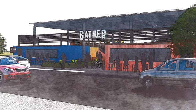 Gather GVL is planned for 126 Augusta Street.