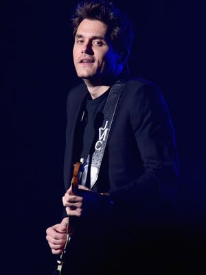 John Mayer, pictured at Madison Square Garden on April 5, 2017 in New York City.