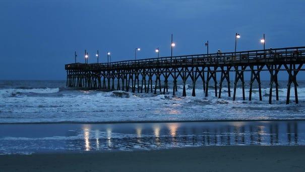 Sunset Beach Pier, North Carolina