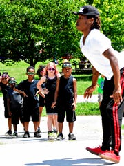 Positive Energy Arts Summer Dance Camp performs during