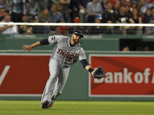 MLB: Detroit Tigers at Boston Red Sox