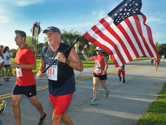 The annual Firecracker 5K in Melbourne always brings