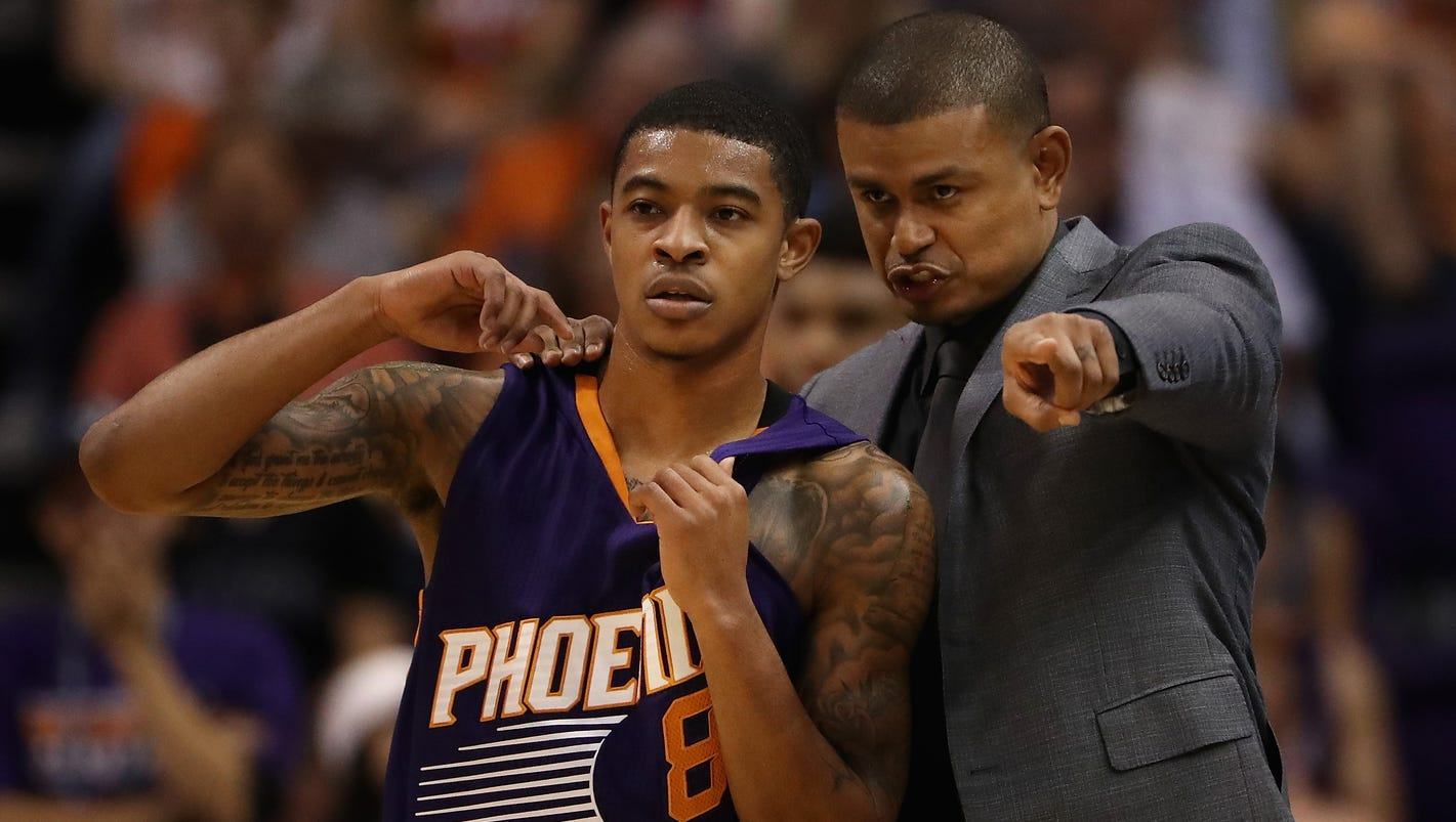 b.j. goodson 93 jersey gardens Rookie Tyler Ulis slides into Suns rotation  smoothly ... 1d8e349c1