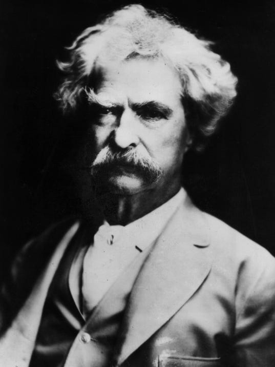 comparison of mark twain and f Henry james and the american idea by  mark twain's adventures of huckleberry finn ranks tenth  his resources of allusion and comparison are endless,.