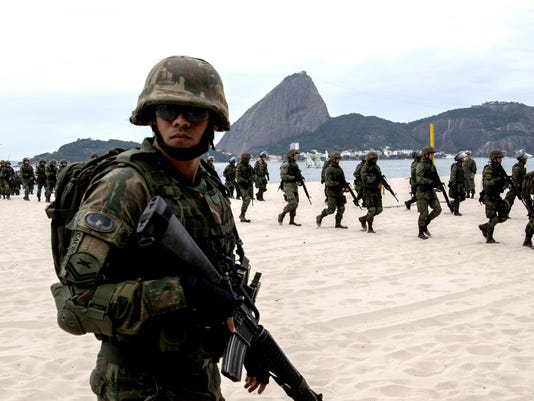 OLY-2016-RIO-SECURITY-LANDING-DRILL