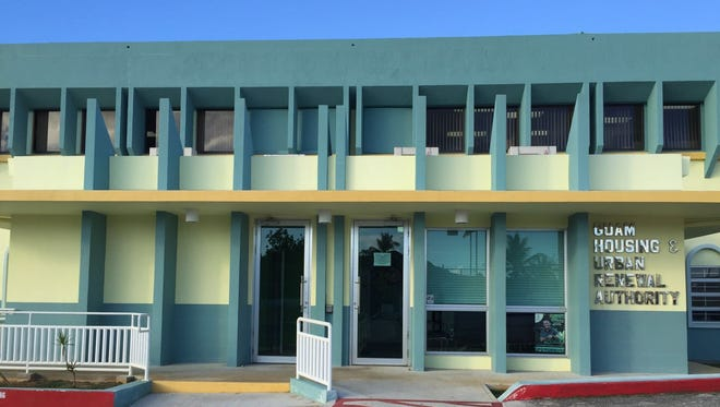 FBI agents were seen at the Guam Housing and Urban Renewal Authority main office in Sinajana just before 5 p.m. Friday.
