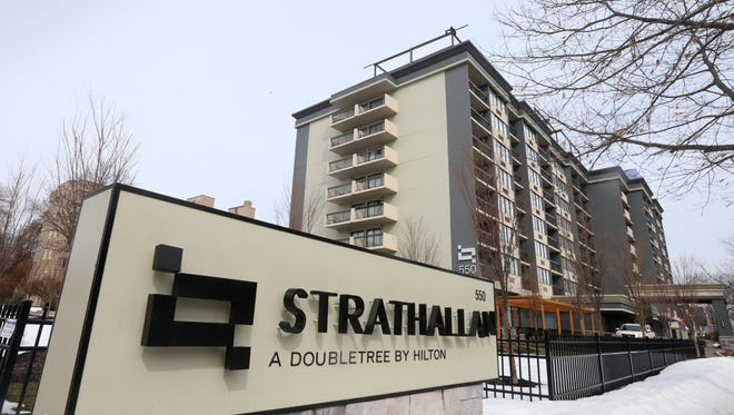 The Strathallan on East Avenue in Rochester.