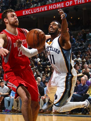 December 26, 2014 -  Memphis Grizzlies Mike Conley,