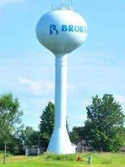 Brokaw's water tower.