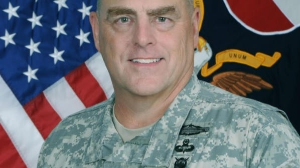 Adm. Mark Milley, a Winchester native and the chairman of the Joint Chiefs of Staff, is in quaratine after coming in contact with a senior officer with COVID-19.