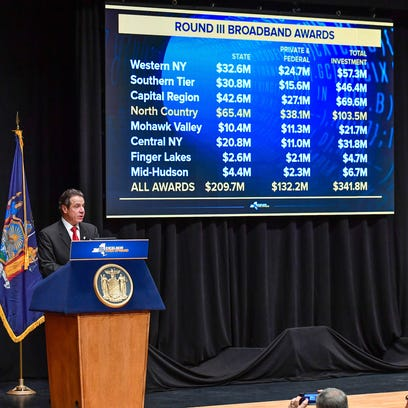Gov. Andrew Cuomo announces Round III of the NY Broadband