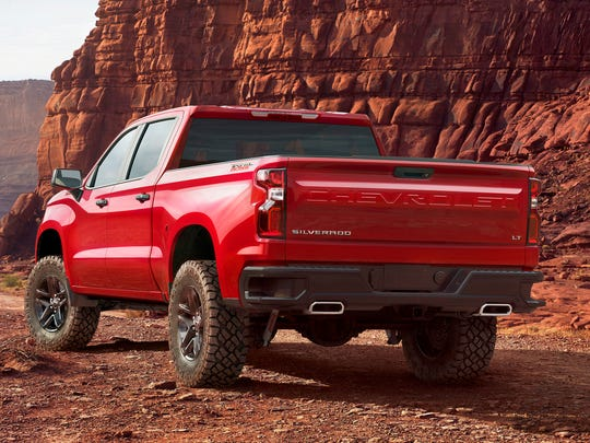 The 2019 Chevrolet Silverado, new from the ground up,