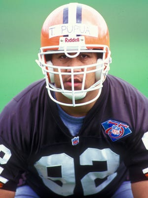 Ta'u Pupu'a was a defensive end for the Cleveland Browns before becoming an opera singer.