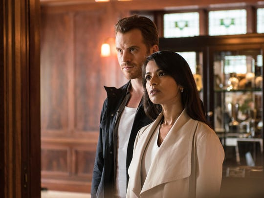 """Rob Kazinsky and Dilshad Vadsaria in """"Second Chance."""""""