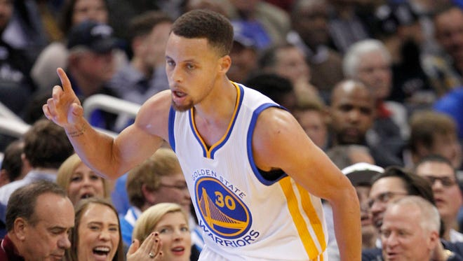 Stephen Curry notched his third 50-point game of the season.