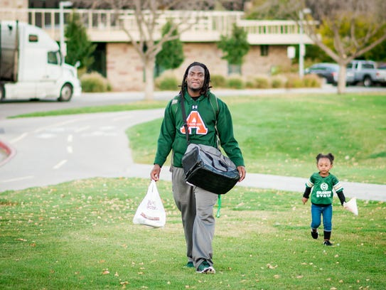 Former CSU football player SteveO Michel is now working