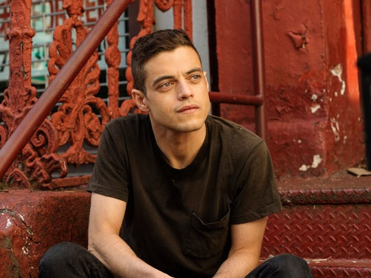 'Mr. Robot' star Rami Malek, seen here in a scene from USA's 'Mr. Robot,' is moving to the big screen to play Queen's Freddie Mercury in 'Bohemian Rhapsody.'