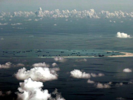 AP CHINA SOUTH CHINA SEA I FILE XIF