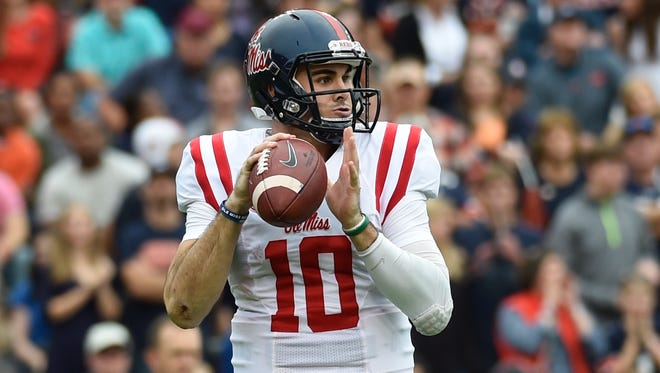 Ole Miss quarterback Chad Kelly has thrown 11 interceptions over his past six games.