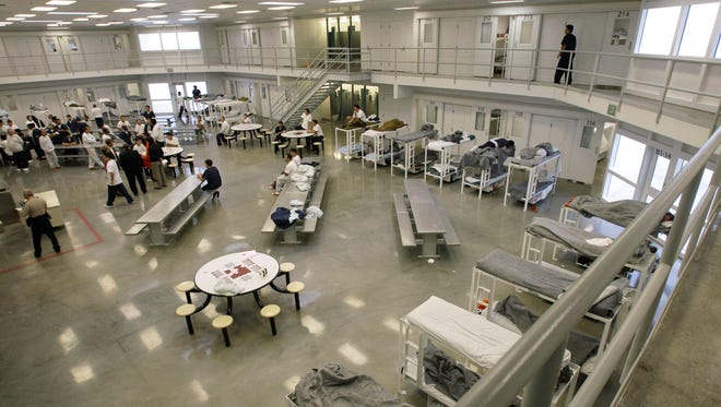 Northwest Detention Center in Tacoma, Wash., is operated by the GEO Group.