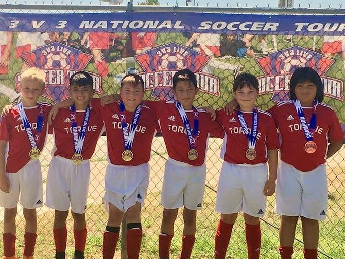 Left to right: Braddock Beaty, Mason Fierro, Daesen