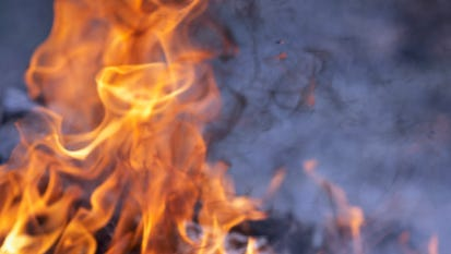 Wilmington officials are investigating a fire that displaced five people, including three children.