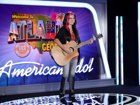 "Singer-songwriter Jess Meuse takes the stage in the first round on season 13 of ""American Idol."""