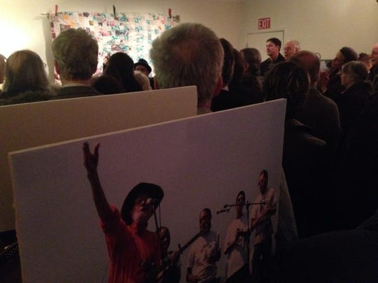 Pete Seeger was honored Sunday at a memorial service in Beacon.