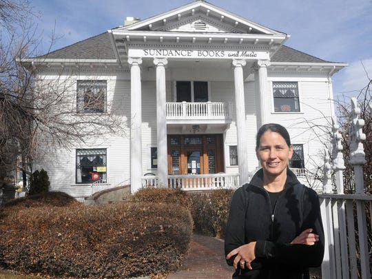 The Levy Mansion now hosts Sundance Books & Music, co-owned by Christine Kelly.