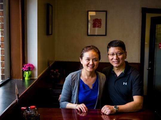 Rachel and Steven Sun, co-owners of Fortune Noodle House in Clifton, opened their restaurant in March of 2016.